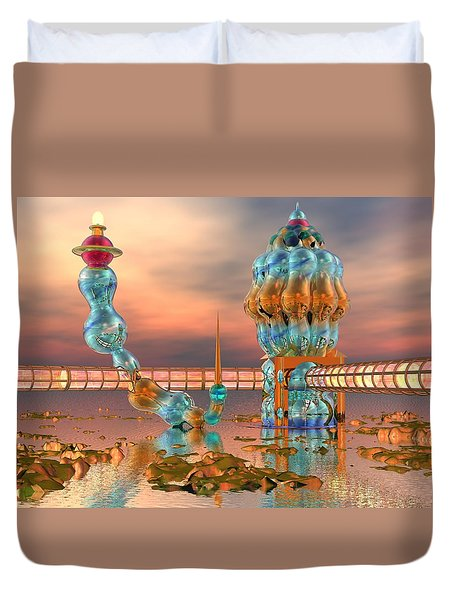 On Vacation Duvet Cover