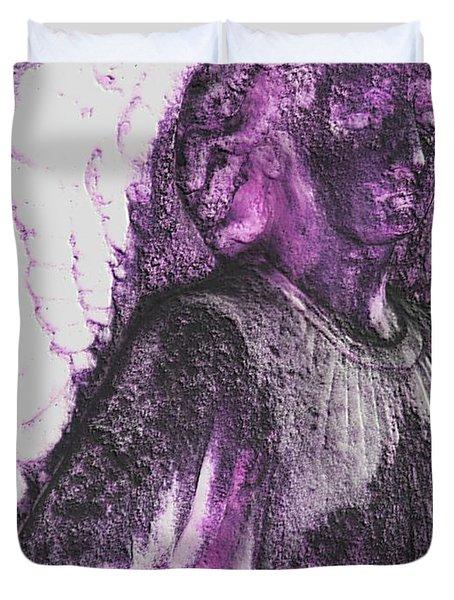 On Wings Of Light Duvet Cover