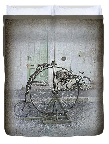 On Your Bike Duvet Cover