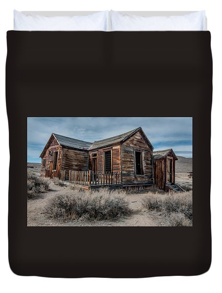 Once A Home Duvet Cover by Ralph Vazquez