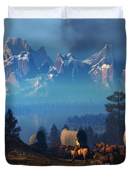 Once But Long Ago Duvet Cover