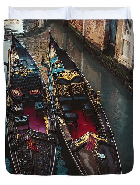 Once In Venice Duvet Cover