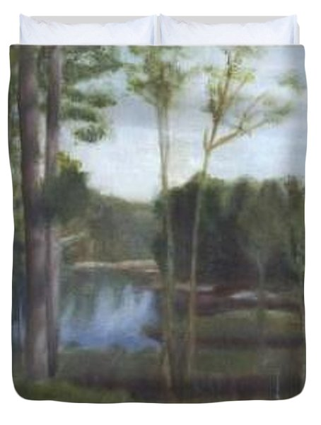 Once Duvet Cover by Sheila Mashaw