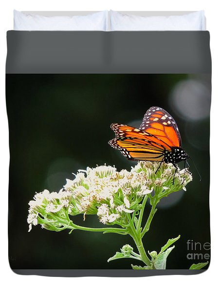 Once Upon A Butterfly 005 Duvet Cover by Robert ONeil