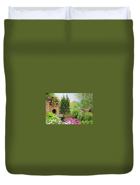 Once Upon A Spring Time Duvet Cover