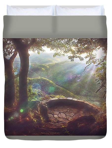 Duvet Cover featuring the photograph Ever After by Jessica Brawley