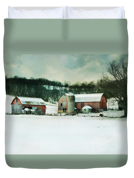 Duvet Cover featuring the photograph Once Was Special by Julie Hamilton