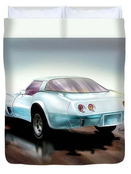 Once You Have Owned A Vette... Duvet Cover