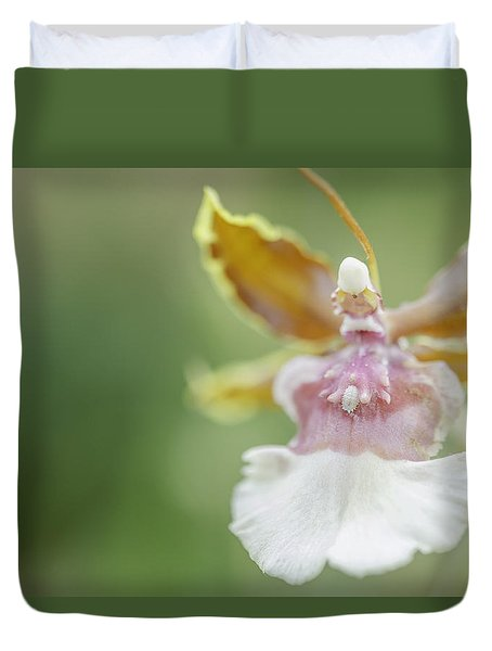 Oncidium Surprise Duvet Cover