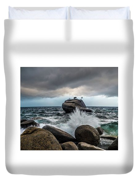 Oncoming Storm Duvet Cover
