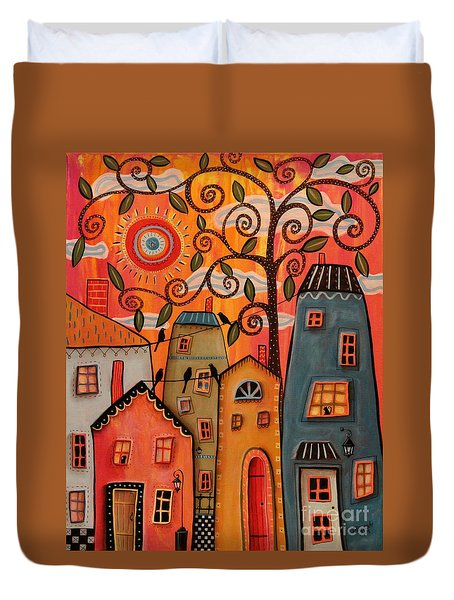 One Afternoon Duvet Cover