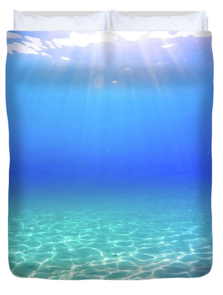 One Deep Breath Duvet Cover