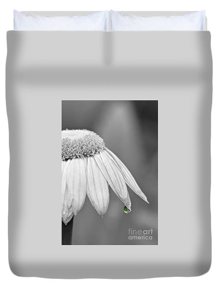 One Drop Of Reflection Duvet Cover