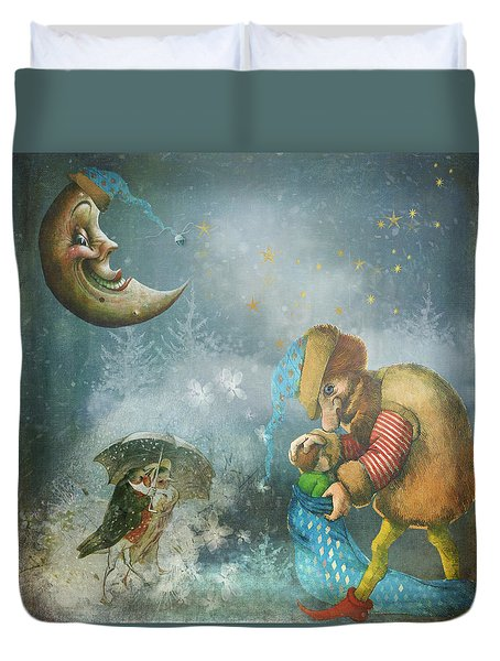 One Enchanting Evening Duvet Cover by Diana Boyd