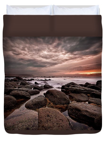 One Final Moment Duvet Cover by Jorge Maia