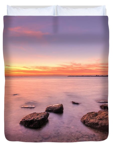 One Fine Morning Duvet Cover