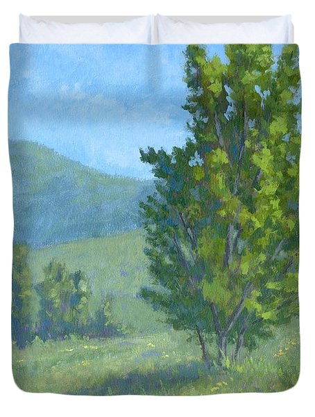 One Fine Spring Day Duvet Cover