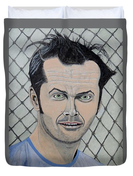 One Flew Over The Cuckoo's Nest. Duvet Cover