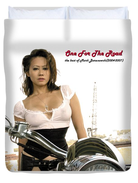 One For The Road Duvet Cover