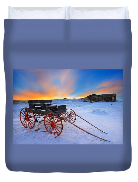 One Horsepower Duvet Cover