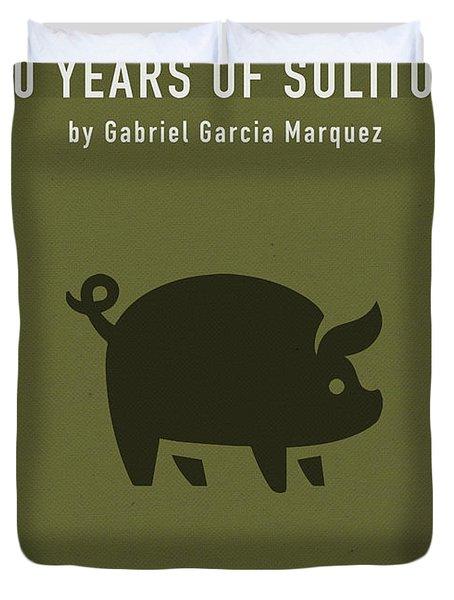 One Hundred Years Of Solitude Greatest Books Ever Series 012 Duvet Cover