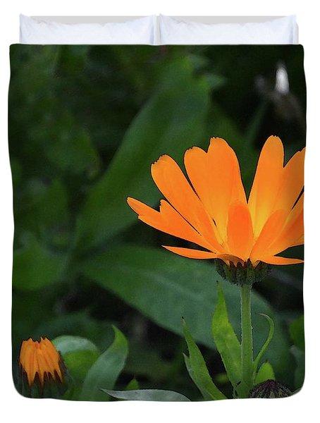 One In Bloom Duvet Cover