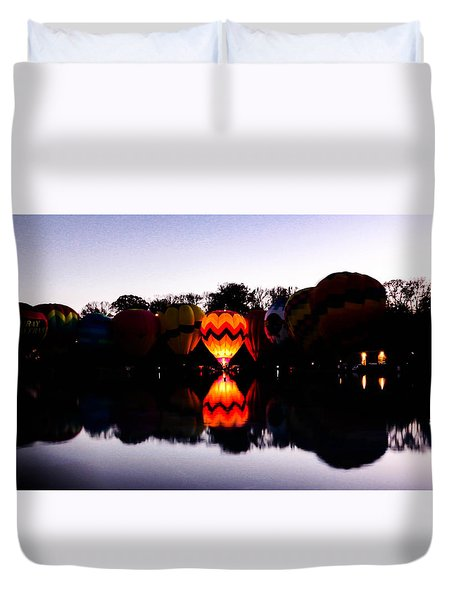 Duvet Cover featuring the photograph One Is The Lonliest by Cathy Donohoue