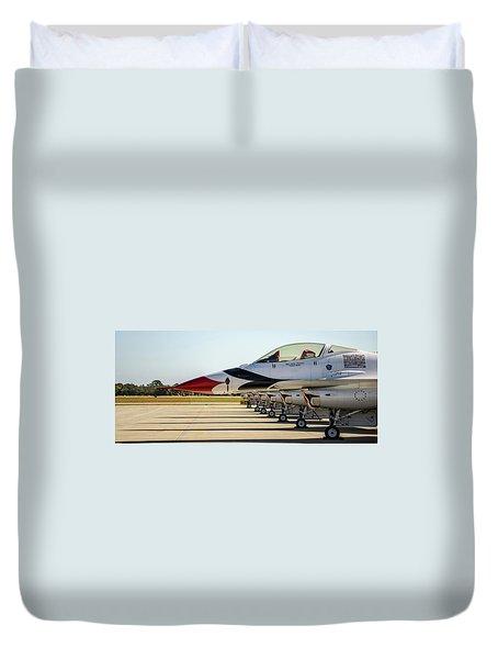 One Jet Or Seven Duvet Cover