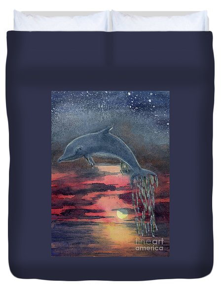 One Last Jump Duvet Cover