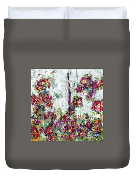 One Last Kiss Duvet Cover by Kirsten Reed