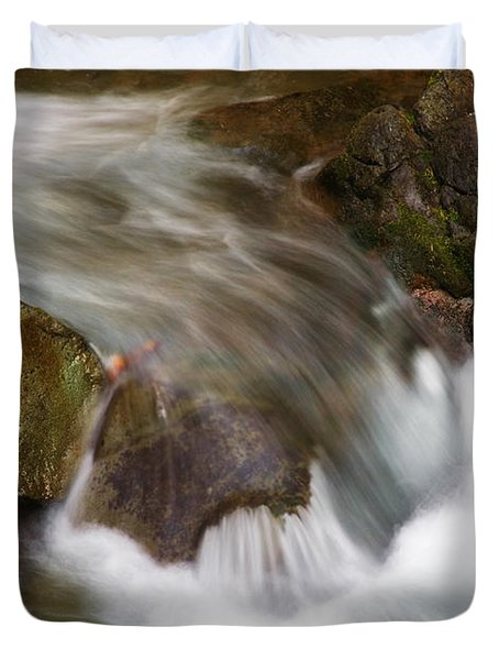 One Left Duvet Cover by Mike  Dawson
