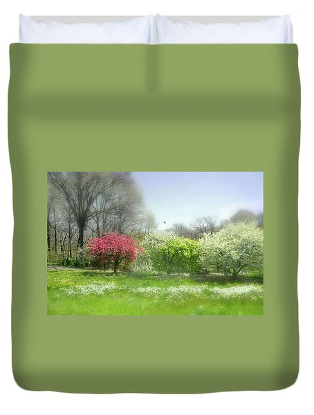 Duvet Cover featuring the photograph One Love by Diana Angstadt