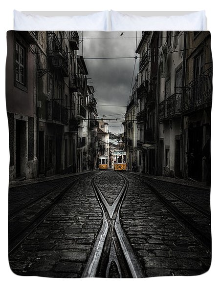 One Memory Duvet Cover by Jorge Maia