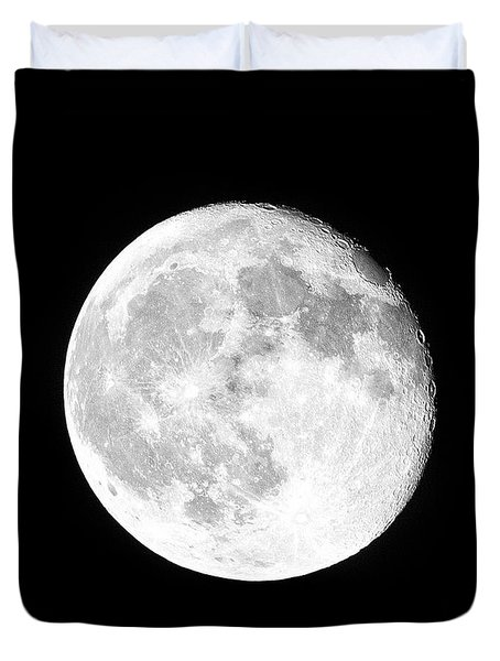 One Moon Duvet Cover
