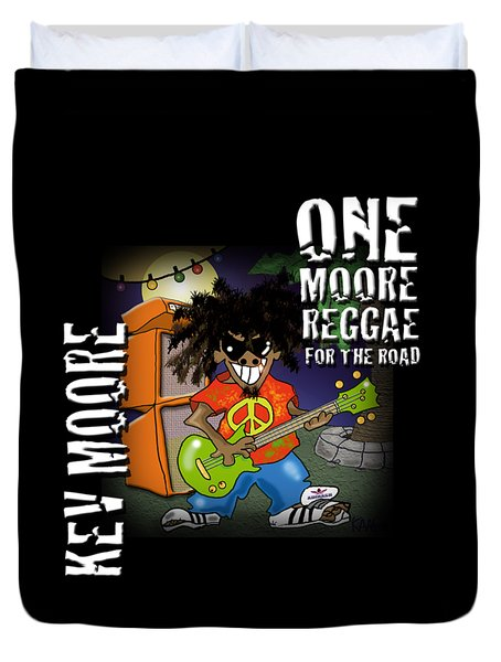 One Moore Reggae Duvet Cover