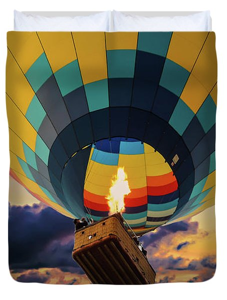 One Morning In Napa Valley Duvet Cover