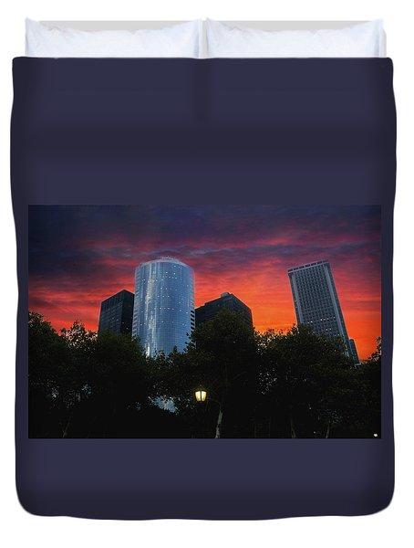 One New York Center-1 Duvet Cover