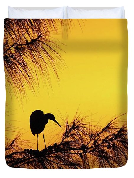 One Of A Series Taken At Mahoe Bay Duvet Cover