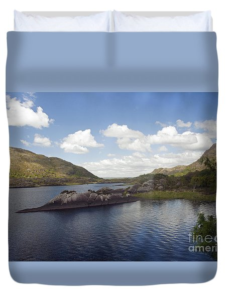 One Of The Lakes Of Killarney Duvet Cover
