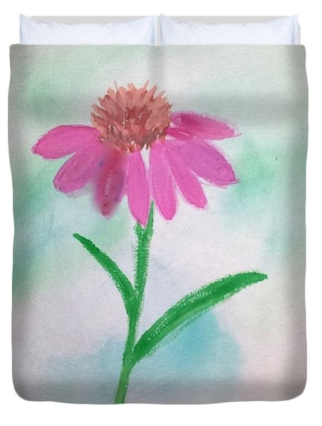 One Petal At A Time Duvet Cover