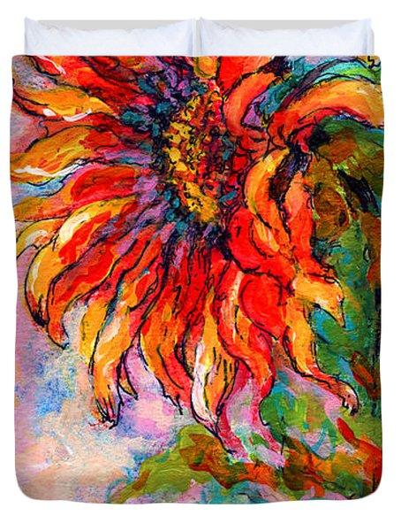 One Sunflower Duvet Cover