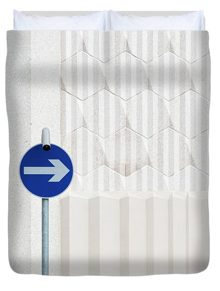 One Way 2 Duvet Cover