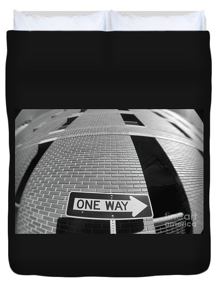 One Way Or Another Duvet Cover