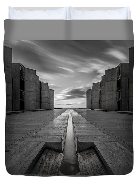 Duvet Cover featuring the photograph One Way by Ryan Weddle