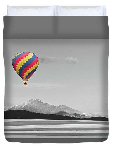 Duvet Cover featuring the photograph One Way Ticket To Paradise by James BO Insogna