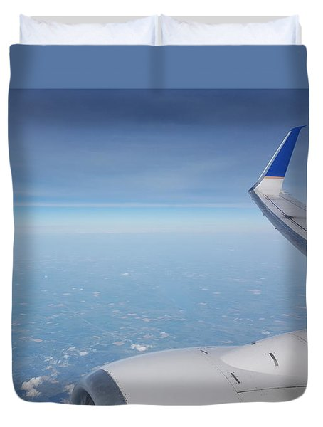 One Who Flies Duvet Cover