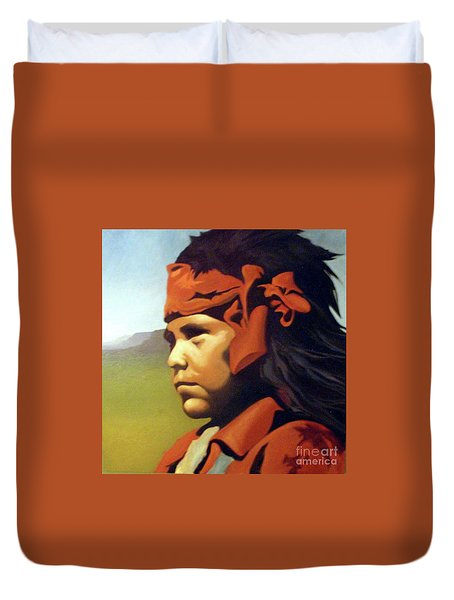One Who Soars With The Hawk Duvet Cover