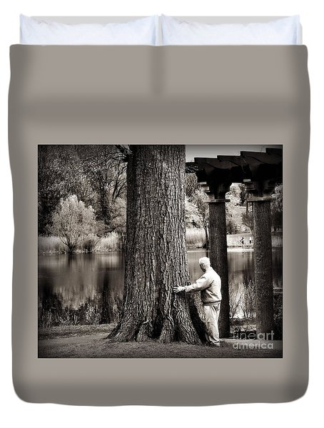 One With Tree Duvet Cover