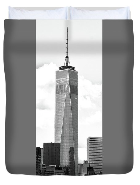 One World Trade Center Duvet Cover