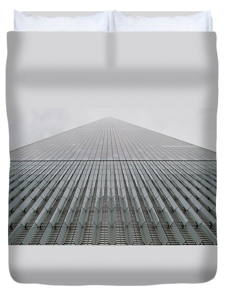 One World Trade Duvet Cover